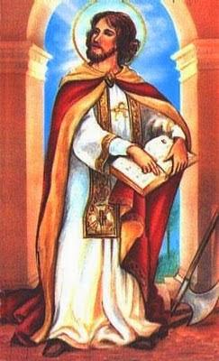 """San Valentín, """"santo"""" católico."""